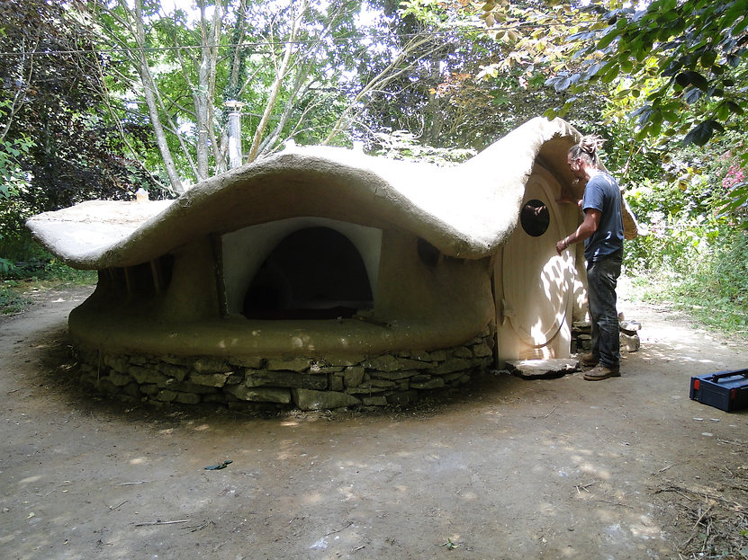 The Adobio ,tiny clay house