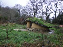 Love-shack's winter vegetal dress