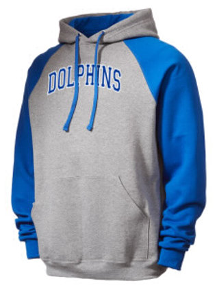 Hoodie - Blue and Gray