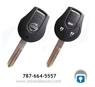llave de control remoto nissan llave.jpg