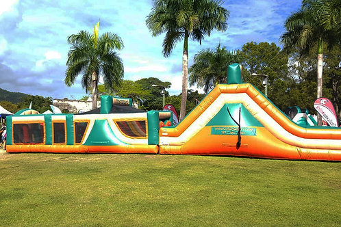 Obstacle Course & Giant Slide