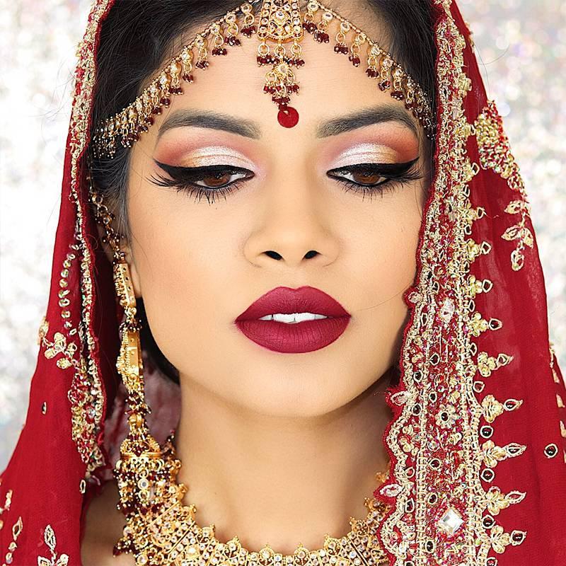 Indian Bridal makeup Exam