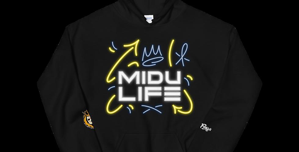 MiduLife Blue Unisex Hoodie