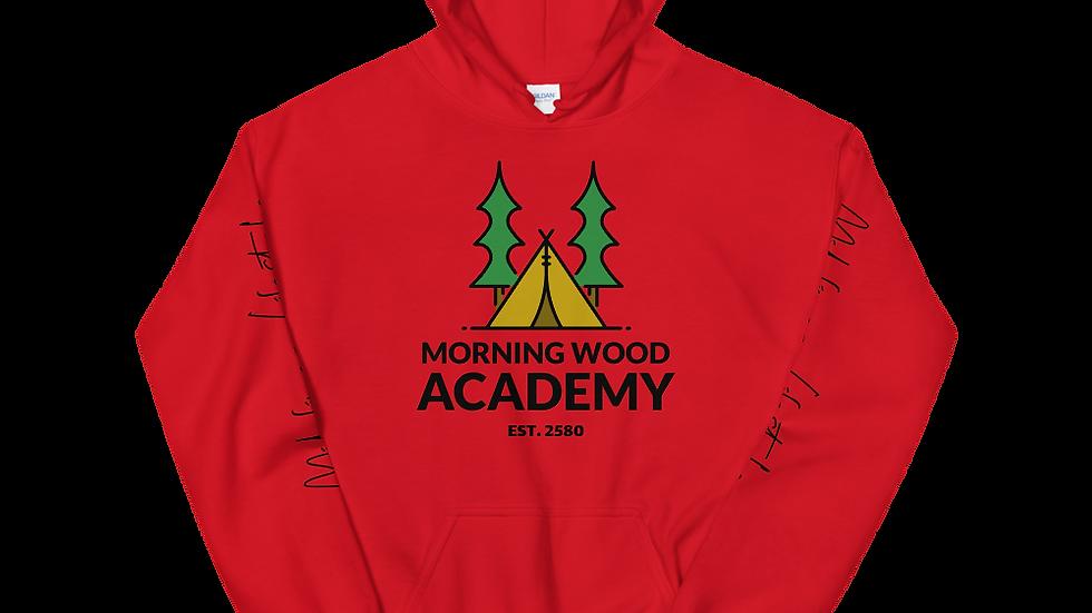 Morning Wood Academy Unisex Hoodie
