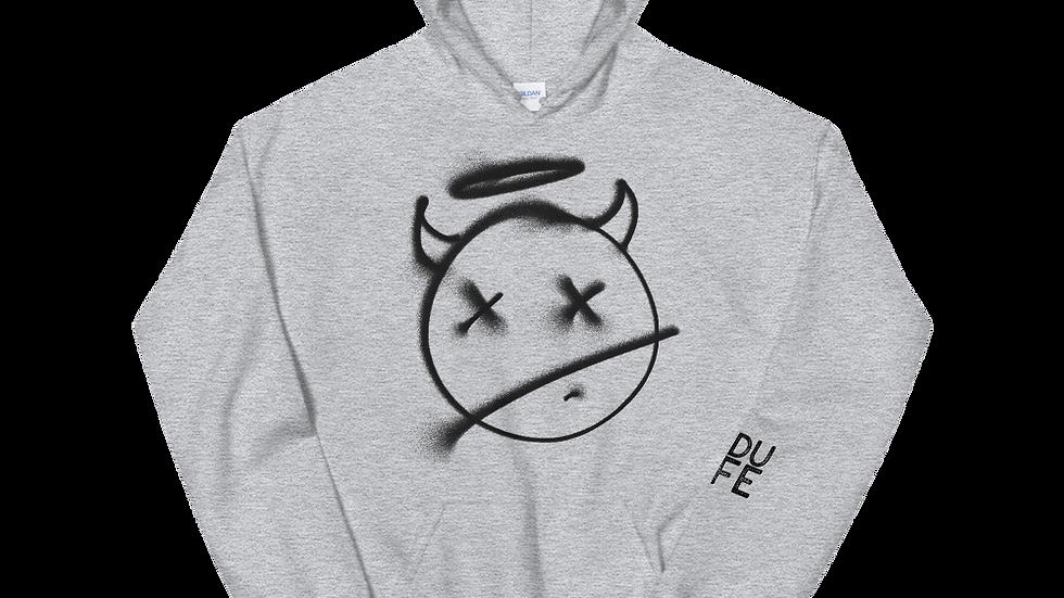 Grey Devil Hoodie