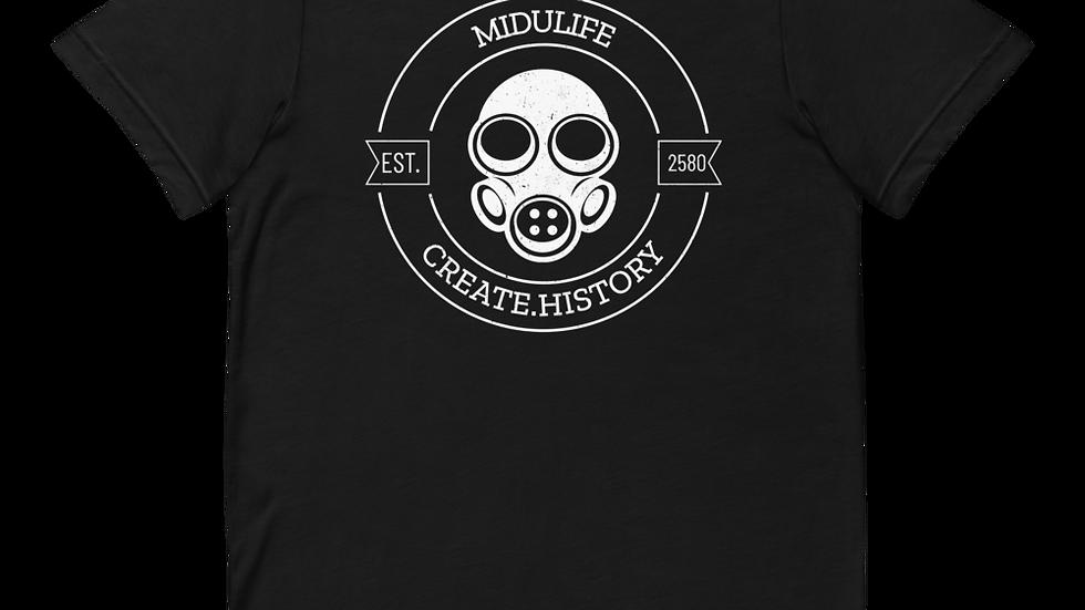 MiduLife Gas Mask History T-Shirt