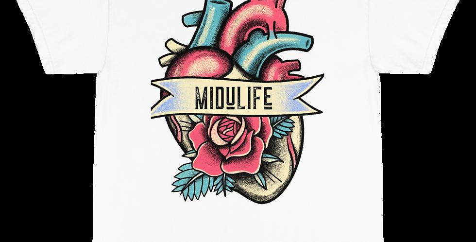 MiduLife Heart Flower T-Shirt