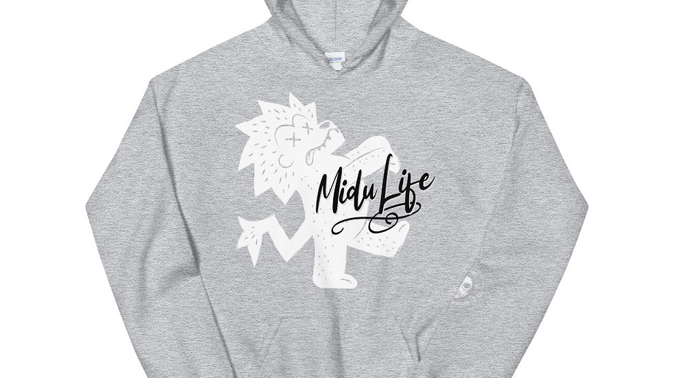 MiduLife Lion Front Hoodie