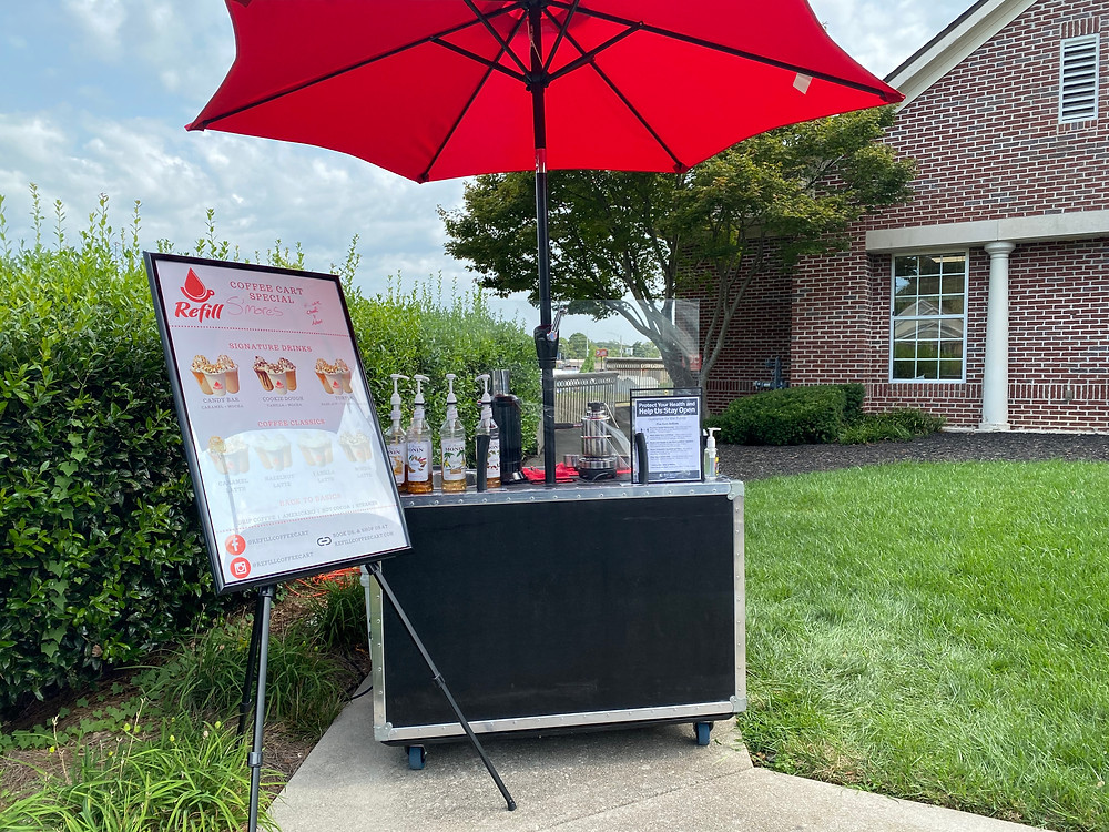 Refill Coffee Cart at Summit Medical Group