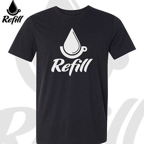Refill Coffee Cart Logo T-Shirt