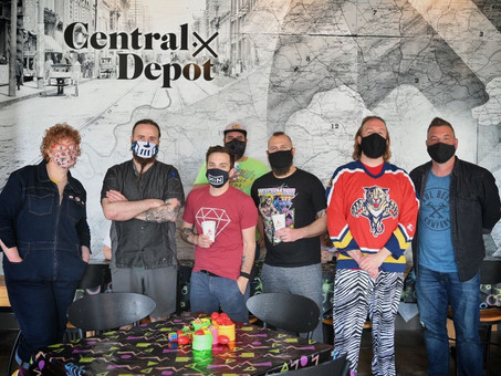 Collaborating with Central Depot to Throw a Caffeinated Party