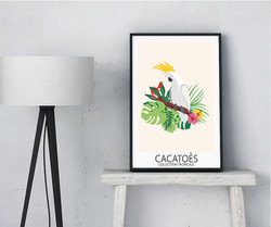 Affiche Cacatoes