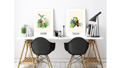 Affiches Tropicales