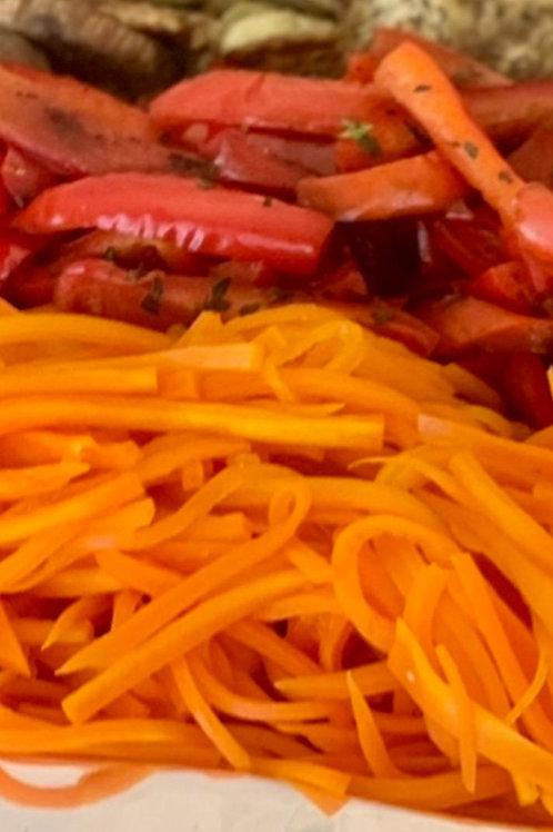 Zanahorias Caramelizadas a la Naranja (4 personas)