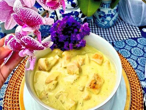 Pollo al Curry (4 personas)