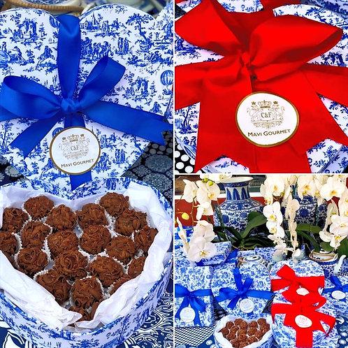 Caja de Trufas de Chocolate