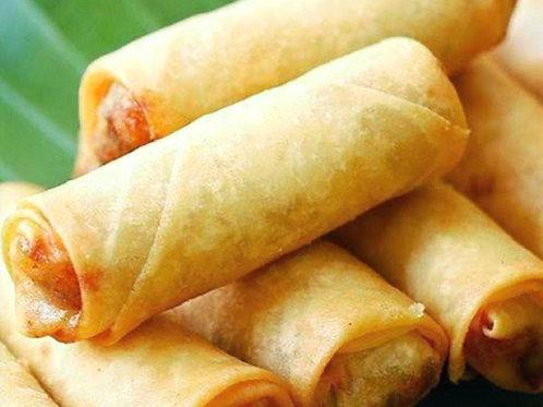Spring Rolls de Pato con Verduras, salsa Thai (16 unidades)