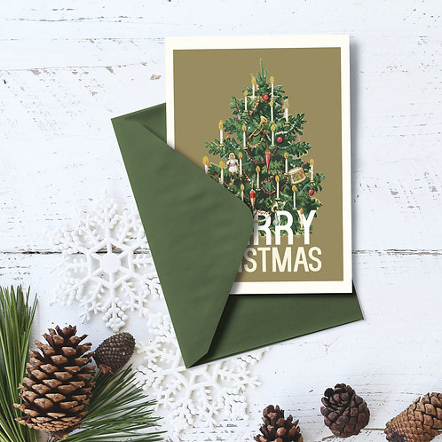 Christmas Card - Tree