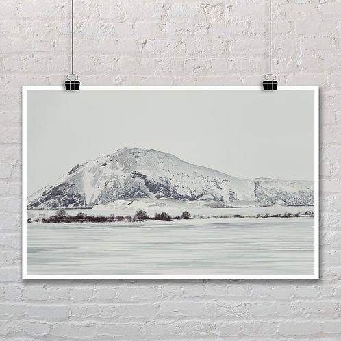 Winter in Myvatn - Photo Printable