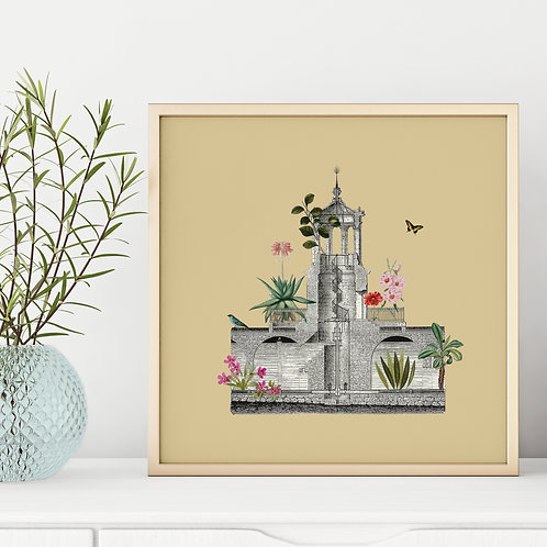 Water Tower - Art Print