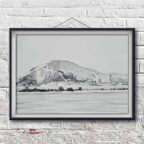 Winter in Myvatn- Photo Print