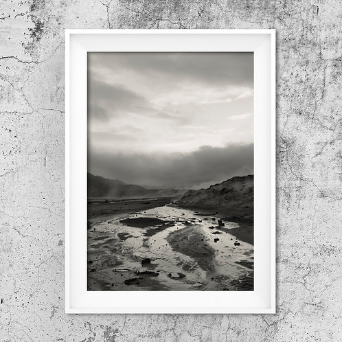 Mud Rivers- Photo Print