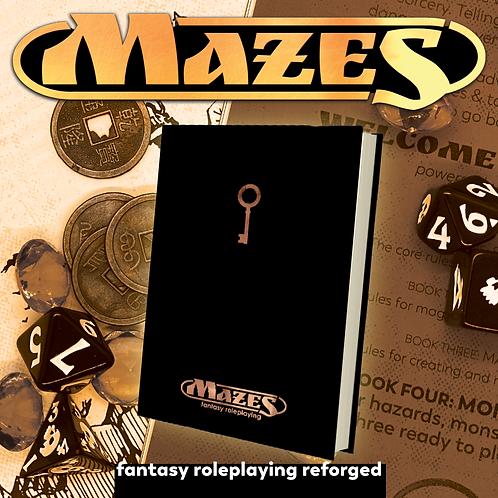 Mazes Hardcover RPG