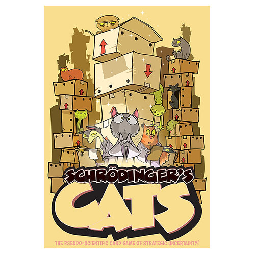 Schrodinger's Cats Card Game