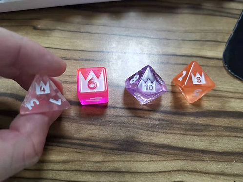 The Excellents Polymorph Dice Set