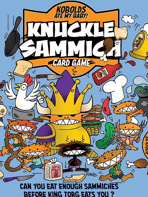 Knuckle Sammich Card Game