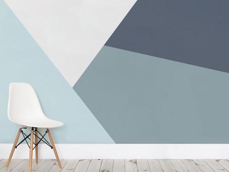 Pintura geométrica: entenda mais sobre essa tendência!