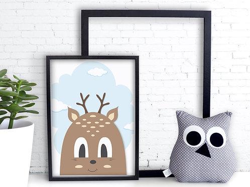 Les animaux de la forêt.