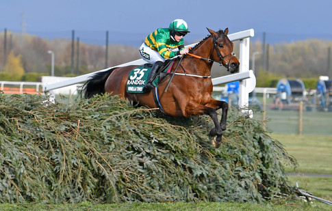 Minella Times on his way