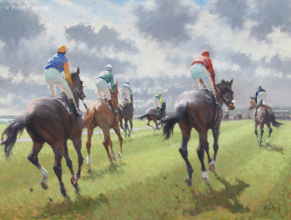 Hacking to the Start, The Curragh