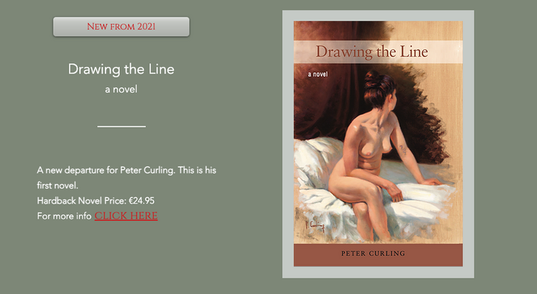 First Novel 'Drawing the Line' by Peter Curling