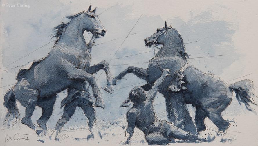 The Horse Tamers, St. Petersburg