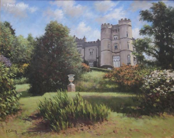 Castle Howard from the Cliff Garden