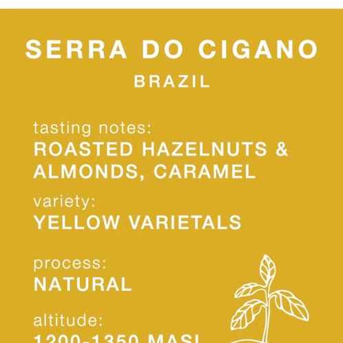 Carrow Coffee BEANS 250g - Serra Do Cigano Brazil