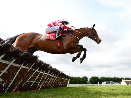 Champion candidate wins Red Mills Hurdle