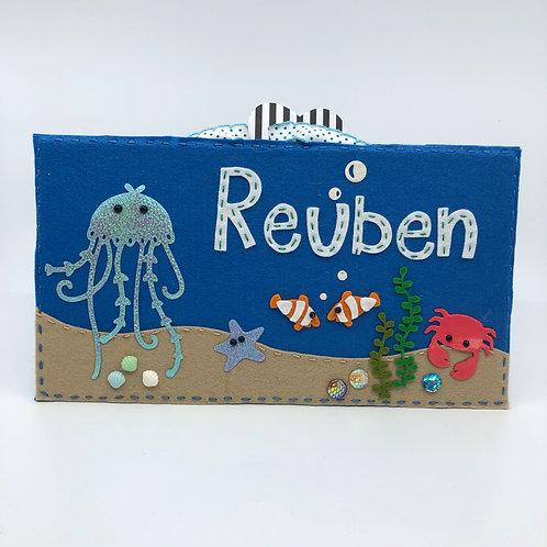 Personalised Under the Sea Door Plaque