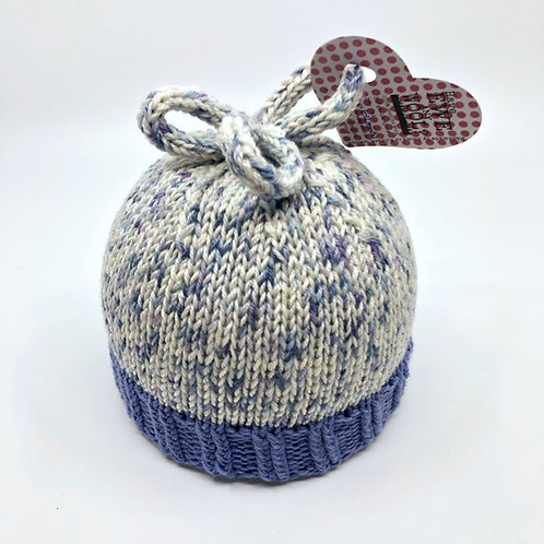 Shades of Blue Speckled Hat