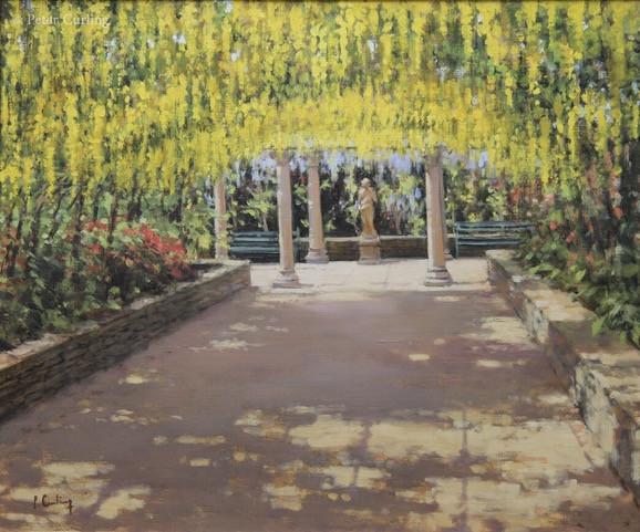 The Laburnum Pergola at Castle Howard