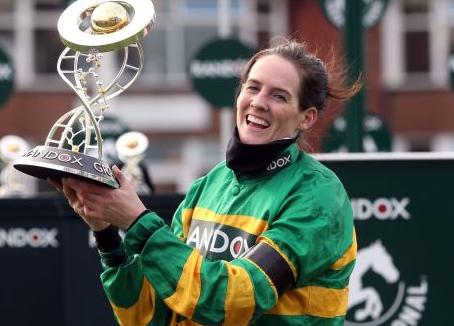 Rachael Blackmore caps historic season as Minella Times wins Grand National