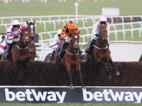 Kettle battles to Champion Chase glory