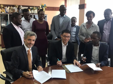 Rwanda Innovation Fund and Abu Dhabi Global Markets sign an MoU for upcoming collaboration