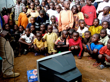 For hundreds of millions of children in Africa, TVs are much more than entertainment