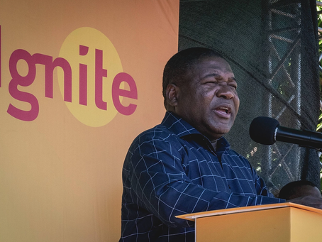 Mozambique: president Nyusi launches Ignite Power Project to supply energy to 1.8 million people