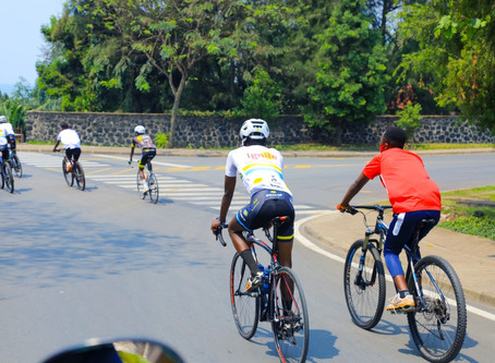 The real reason for the Ignite-Benedication Cycling Team visit in Agahozo Shalom Youth Village