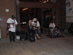 Blues jamming, Memphis