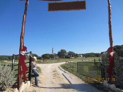 Lonesome cowgirl, Texas ranch